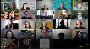 Zoom meeting to celebrate spring 2020